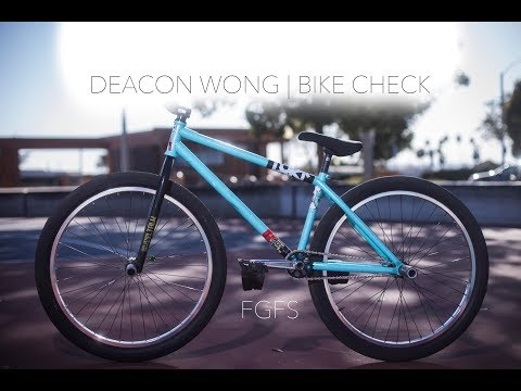 FGFS Bike Check | Deacon Wong