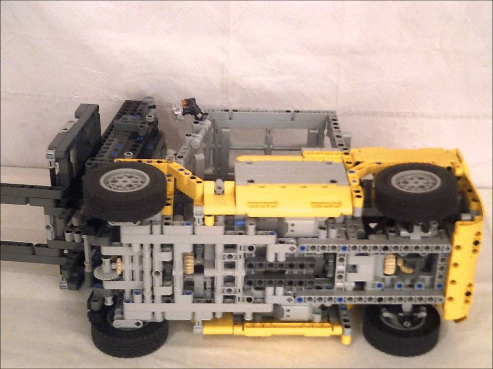 Lego Technic Container Stapler Youtube