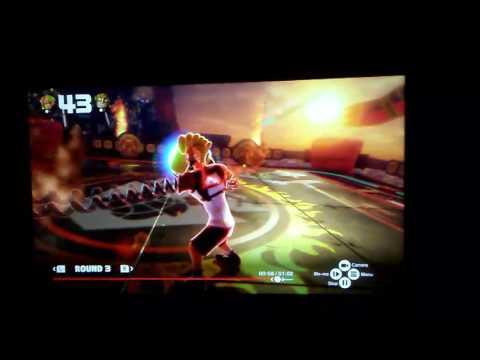 ARMS - Insane block dash. Spring man vs Max Brass
