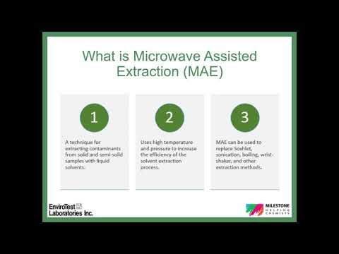 Milestone's Ethos X Microwave Extraction System with FastEX-24 Rotor for Environmental Laboratories
