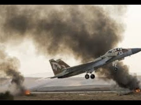 "Breaking News  ""Israel Jets Launches Airstrikse On Iranian Air Base"""