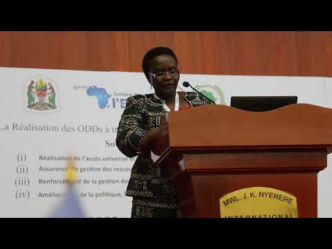 ANEW Chair Presents Civil Society Position at 6th Africa Water Week