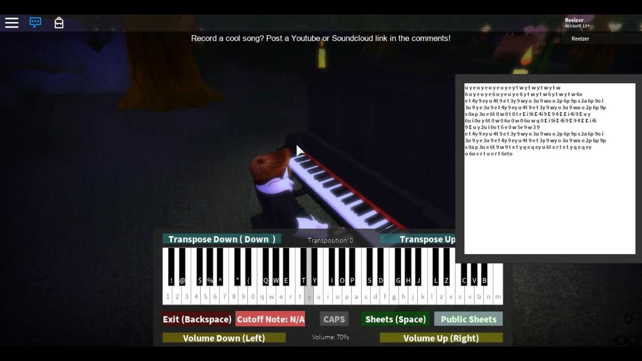 Path of Wind - My Neighbor Totoro (99% wrong) [Virtualpiano/Roblox]