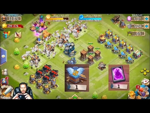 JT's Free To Play Rolling 6000 Gems For Heroes Castle Clash