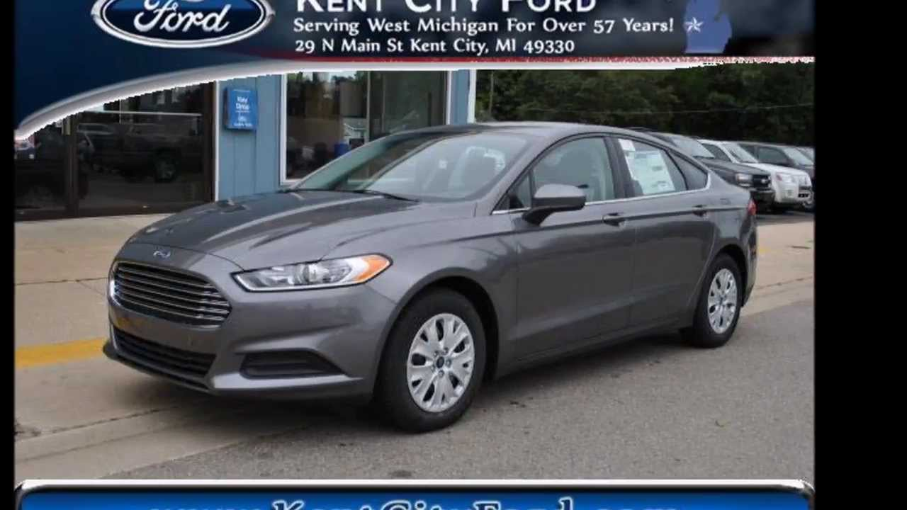 New 2017 Ford Fusion S Dark Gray 22 695