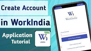 How to Create Account in WorkIndia Job search App screenshot 3