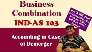 IND AS 103 Business Combination. Accounting treatment By CA Manoj Kumar jain