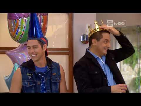 Isabella y Pepe celebraron su cumpleaños juntos - Al fondo hay sitio - 13/08/2015