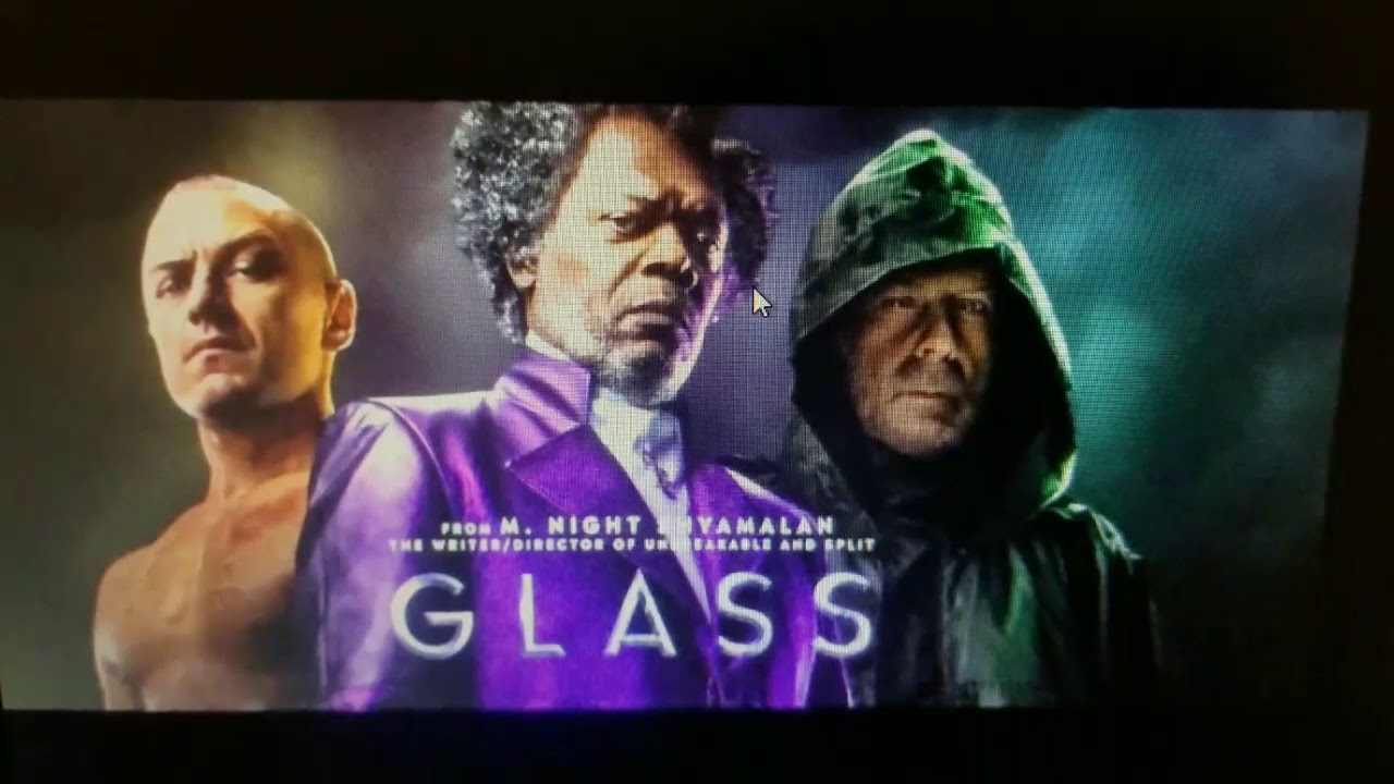 2019 Movie Poster Glass: FIRST LOOK At GLASS From M. Night Shyamalan