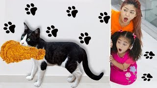 Annie Pretend Play Wash Your Hands | Learning Good Habits Song for Kids