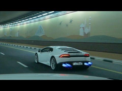 Lamborghini Huracan Vs Range Rover Sport Street Racing !!!