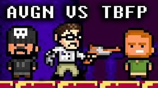 Two Best Friends Play Angry Video Game Nerd Adventures (1/2)