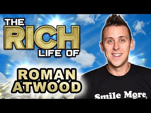 Roman Atwood | The Rich Life | From Warehouse Worker To Multi-Millionaire
