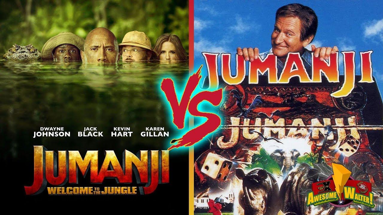 Download Jumanji '95 vs. Jumanji: Welcome to the Jungle