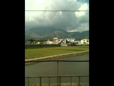 Shinkansen (tren bala) de Nagoya a Kyoto