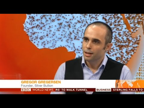 6 July 2016 BBC News Interviews Gregor Gregersen on Brexit Impact on Silver