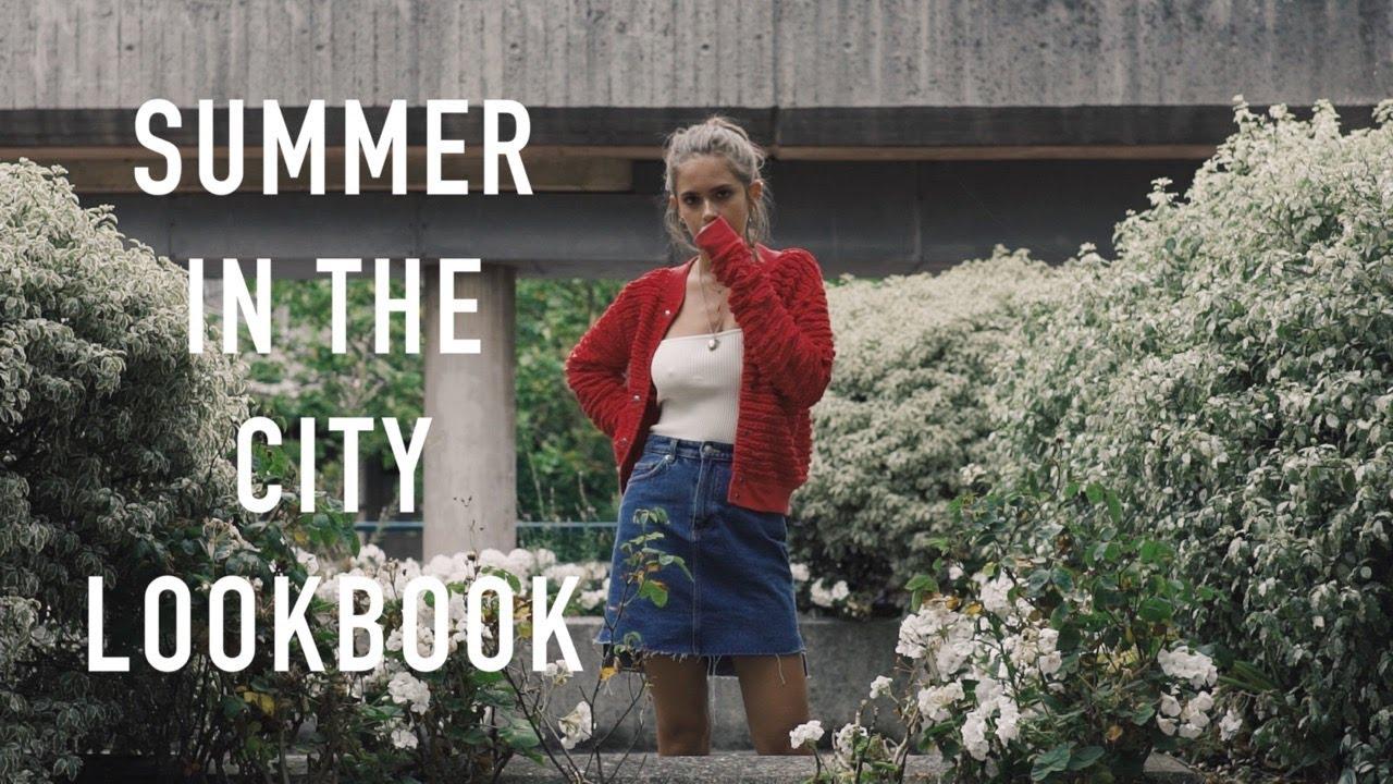 Extrêmement Summer in the City Lookbook | Styling Nike Cortez | sunbeamsjess  WA92