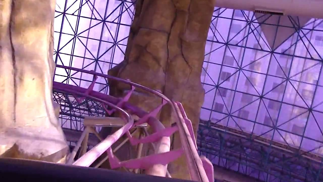 Canyon Blaster Pov In Hd Adventuredome Las Vegas Indoor