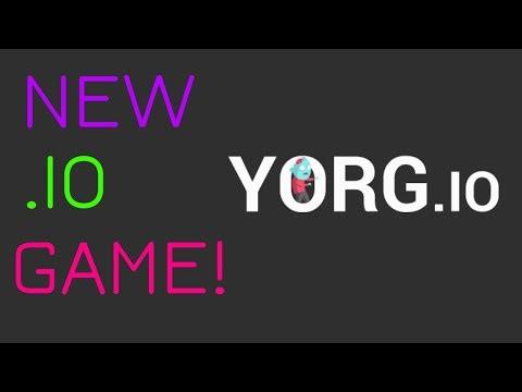 NEW .IO GAME! - Yorg.io #1 |
