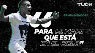 Entre lágrimas, Bryan Mendoza dedicó el gol a su madre