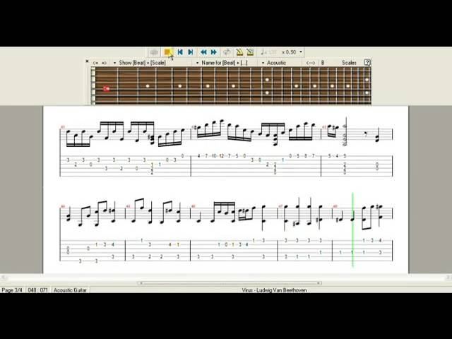 Beethoven Virus Acoustic Version With Loop Control Youtube