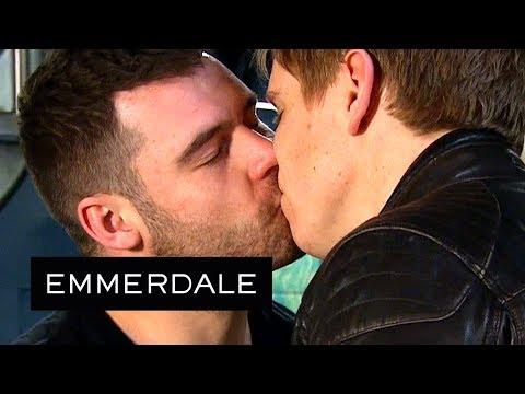 Emmerdale - Robert and Aaron Put Their Wedding Rings Back On