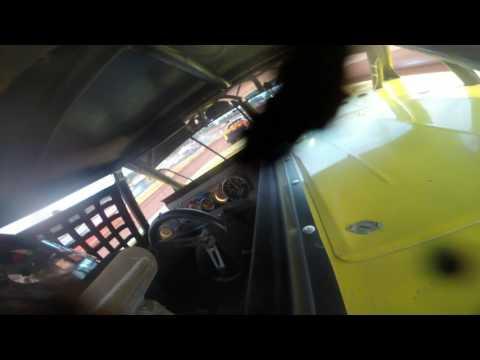cherokee speedway limited sportsman heat race 6/17/17