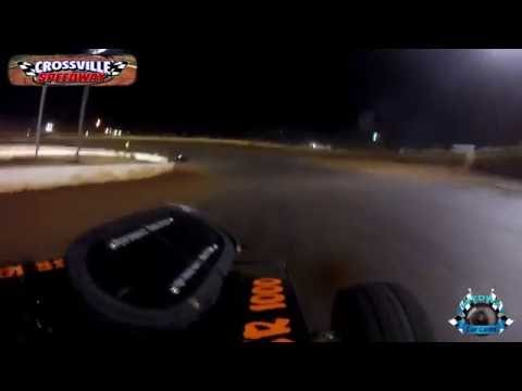 A12 Havie Johnson - Dwarf - 10-8-16 - Crossville Speedway - In-Car Camera