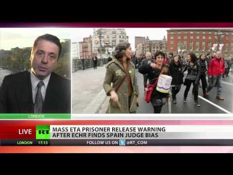Spain frees ETA prisoner after European court ruling