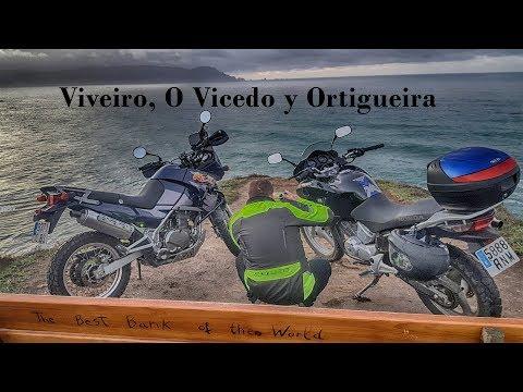 Galicia en moto - Viveiro, Ortigueira y O Vicedo (Kle500)