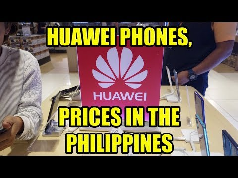 Huawei Phones, Prices In The Philippines.