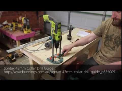 009 - Drilling bench dog hole quick tip