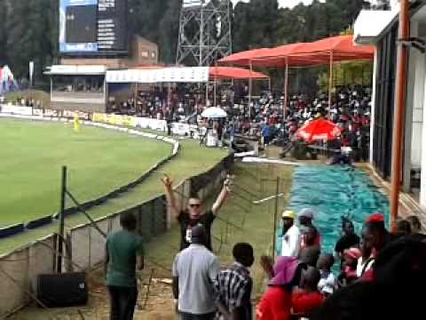 South Africa vs Australia tri series final Harare Sports Club