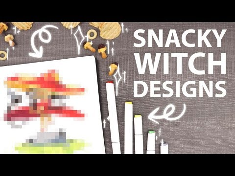 CREATING SNACK INSPIRED WITCHES Tokyo Treat Unboxing