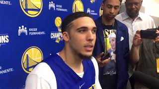 LiAngelo Ball said he doesn't get many questions during UCLA/China incident