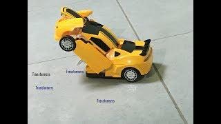 МАШИНА РОБОТ ТРАНСФОРМЕР! ОБЗОР АВТОБОТ!Transformers Bumblebee !Ойыншық машиналар!