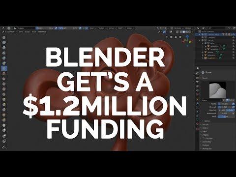 BLENDER FOUNDATION GETS $1.2 MILLION MEGA GRANT FROM EPIC GAMES - AWESOME