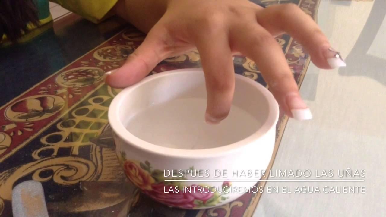 Como quitar uñas postizas | fácil y sin dolor. - YouTube