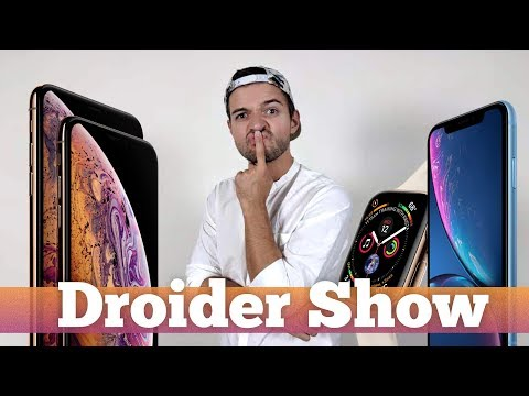 IPhone Xs ОБЗОР презентации IPhone Xs Max, IPhone Xr и Apple Watch 4   Droider Show 383