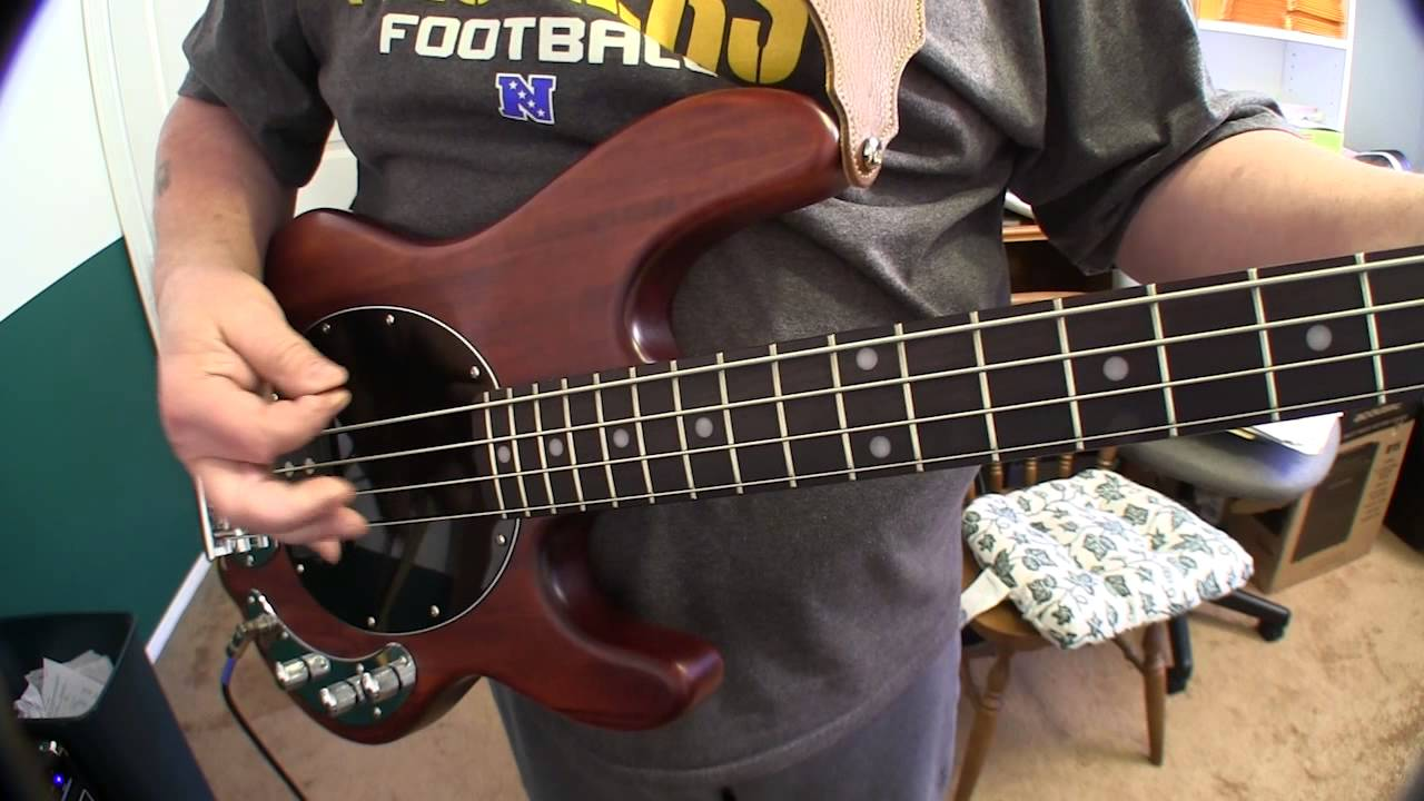 sterling by music man s u b ray4 bass guitar youtube. Black Bedroom Furniture Sets. Home Design Ideas