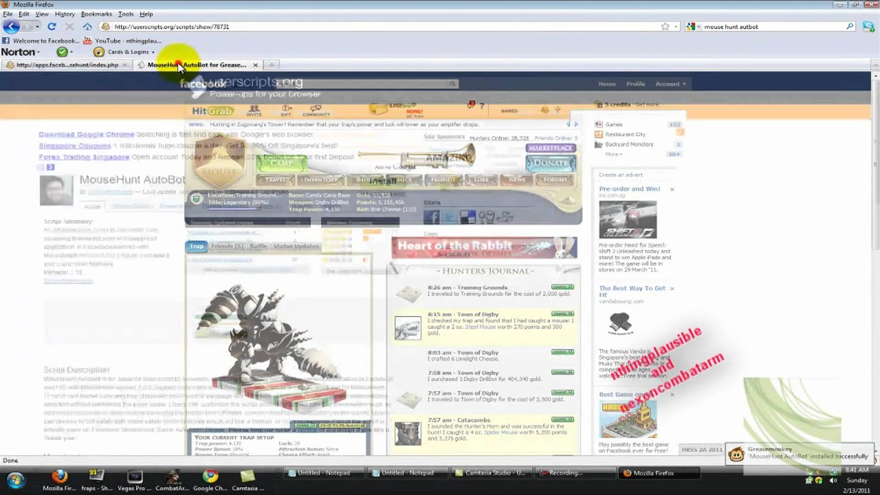 How to get Mousehunt autobot (v1 16)