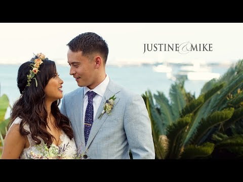 Justine and Mike's San Diego Wedding Same Day Edit