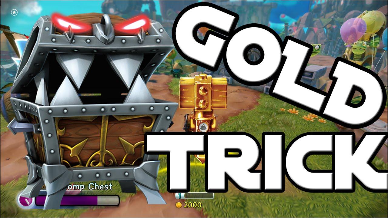 skylanders trap team chomp chest gold trick kapitel 1