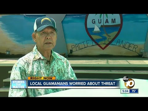 Local Guamanians worried about North Korea