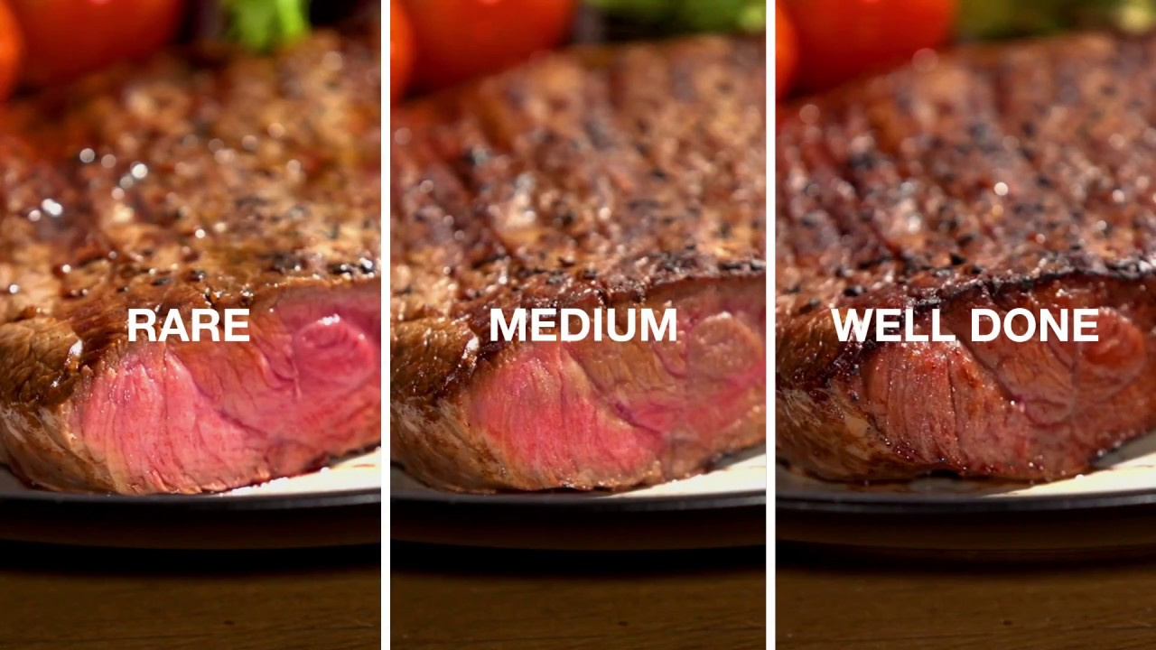 What temp to cook filet mignon on george foreman grill