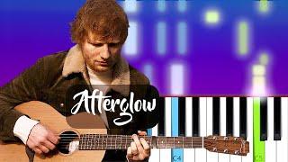 Ed Sheeran - Afterglow | Piano Tutorial