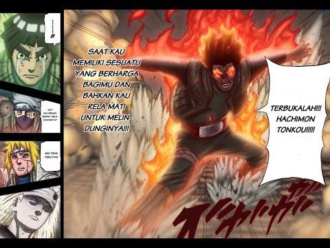 Naruto shippuden 409 sub indo gai sensei vs madara youtube for Gai sensei 8 portes