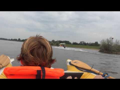 Zapcat on the river IJssel