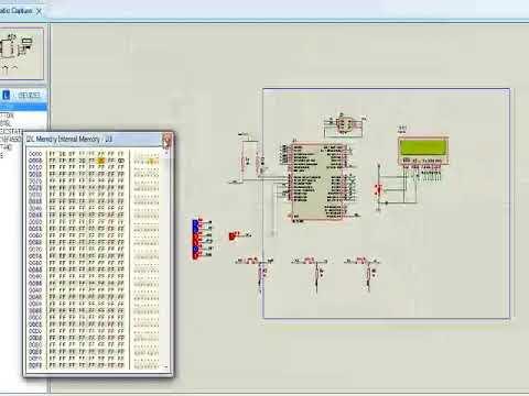 grabado de memoria con protocolo i2c, pic18f4550