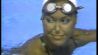 Olympics - 1984 Los Angeles - Synchronized Swimming Solo - USA Tracey Ruiz & CAN Sharon Hambrook